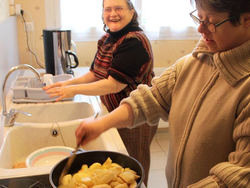 Une cuisine éducative à l'atelier alterné de Pont-Croix