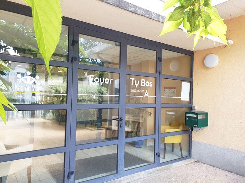 Foyer de Quimper : livraison du chantier de restructuration de Ty Bos